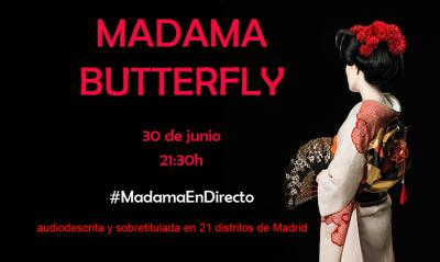 Madama Butterfly accesible